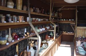 手作り陶器販売所